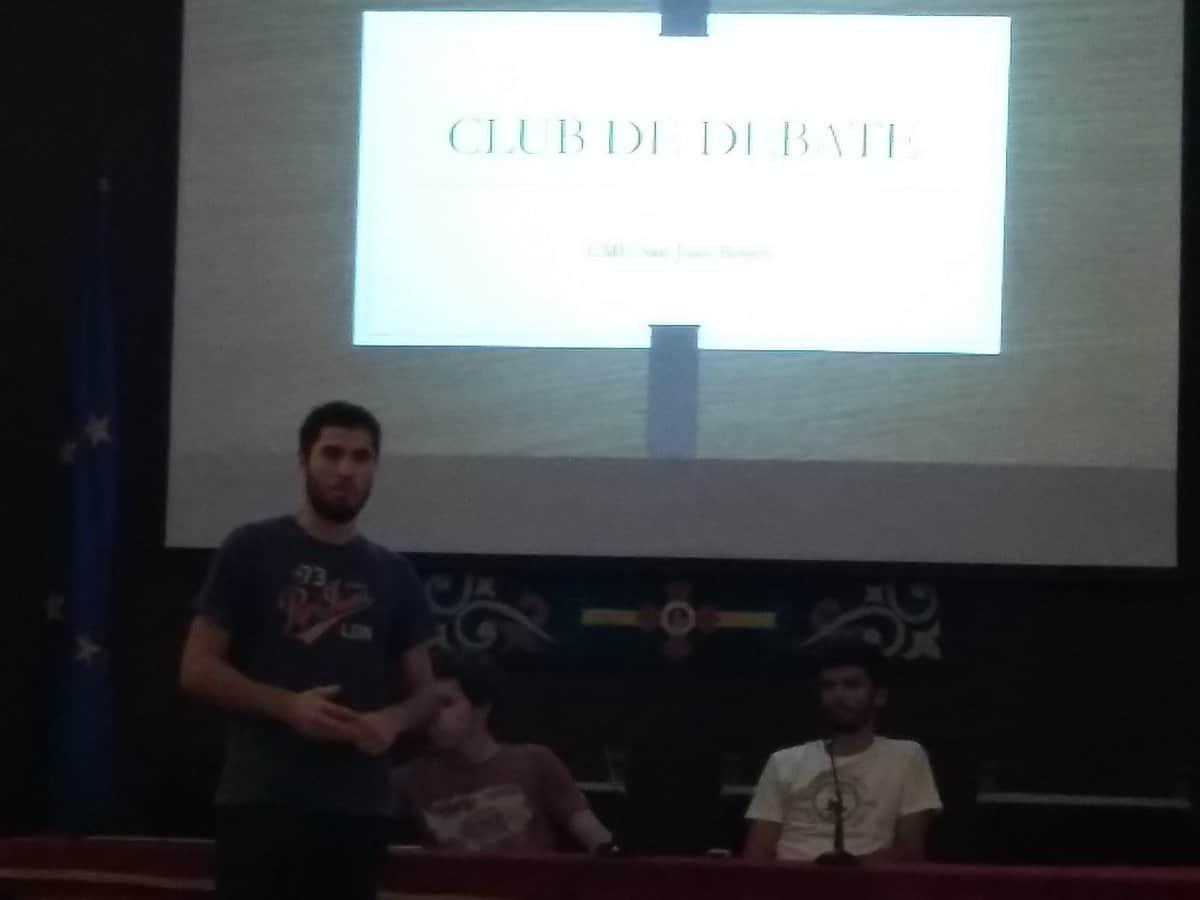 Presentación del club de debate