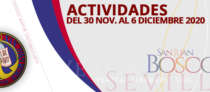 Actividades del 30 de noviembre al 6 de diciembre